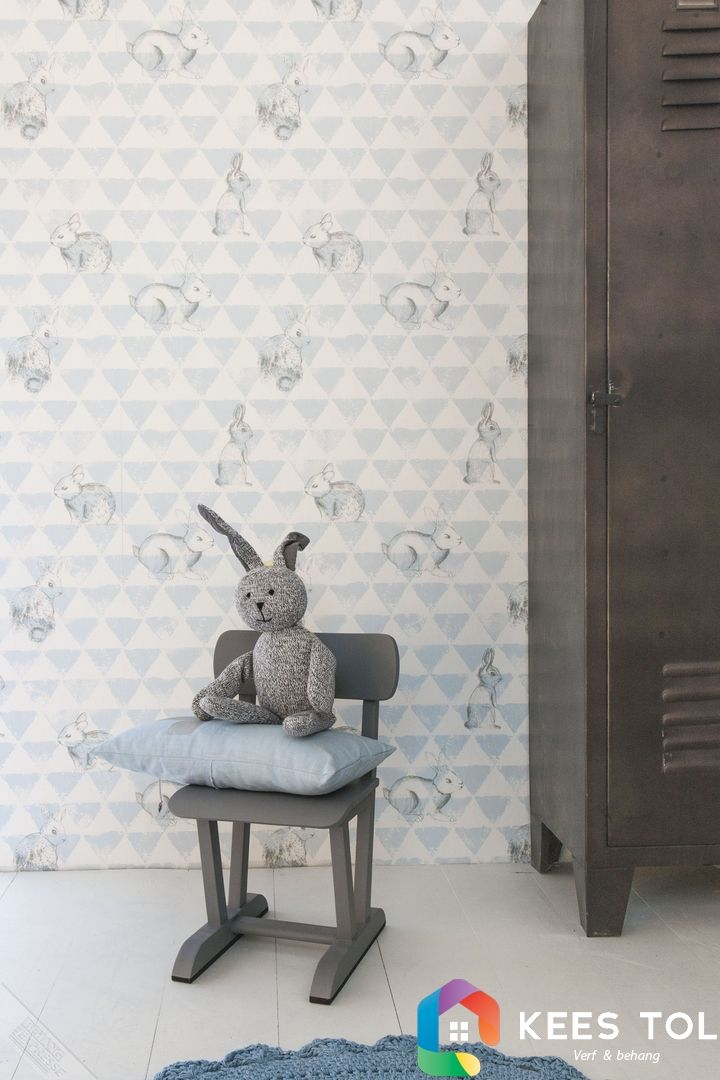 #Bunnies! #BabyRoom #Wallpaper