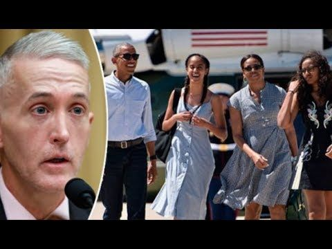 Trey Gowdy Exposed The Reason Why Obama Is In Bali - YouTube
