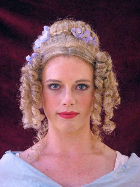 1830s - 1840s hair