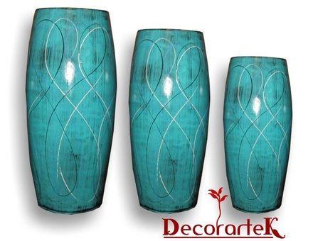 fotos de jarrones de barro decorativos decoracion diseo artesanal modernista tlaquepaque