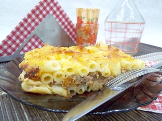 Запеканка из макарон с фаршем в духовке, вкусный рецепт с фото