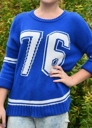 Kup mój przedmiot na #vintedpl http://www.vinted.pl/damska-odziez/dlugie-swetry/7128526-cieply-sweterek-76-numer-amisu