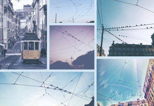LX type. Nice project by studio Leo Burnett, typeface created inspired by Tram line wires criss-crossing around Lisboa. http://www.leoburnett.pt/