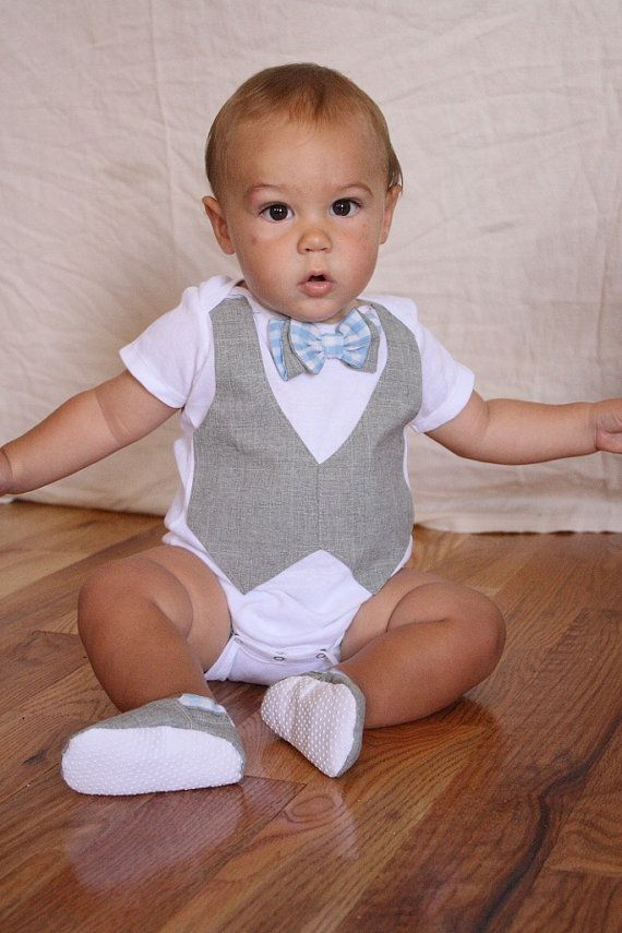 Baby boy shirt bow tie shirt Baby boy photo prop by haddygrace