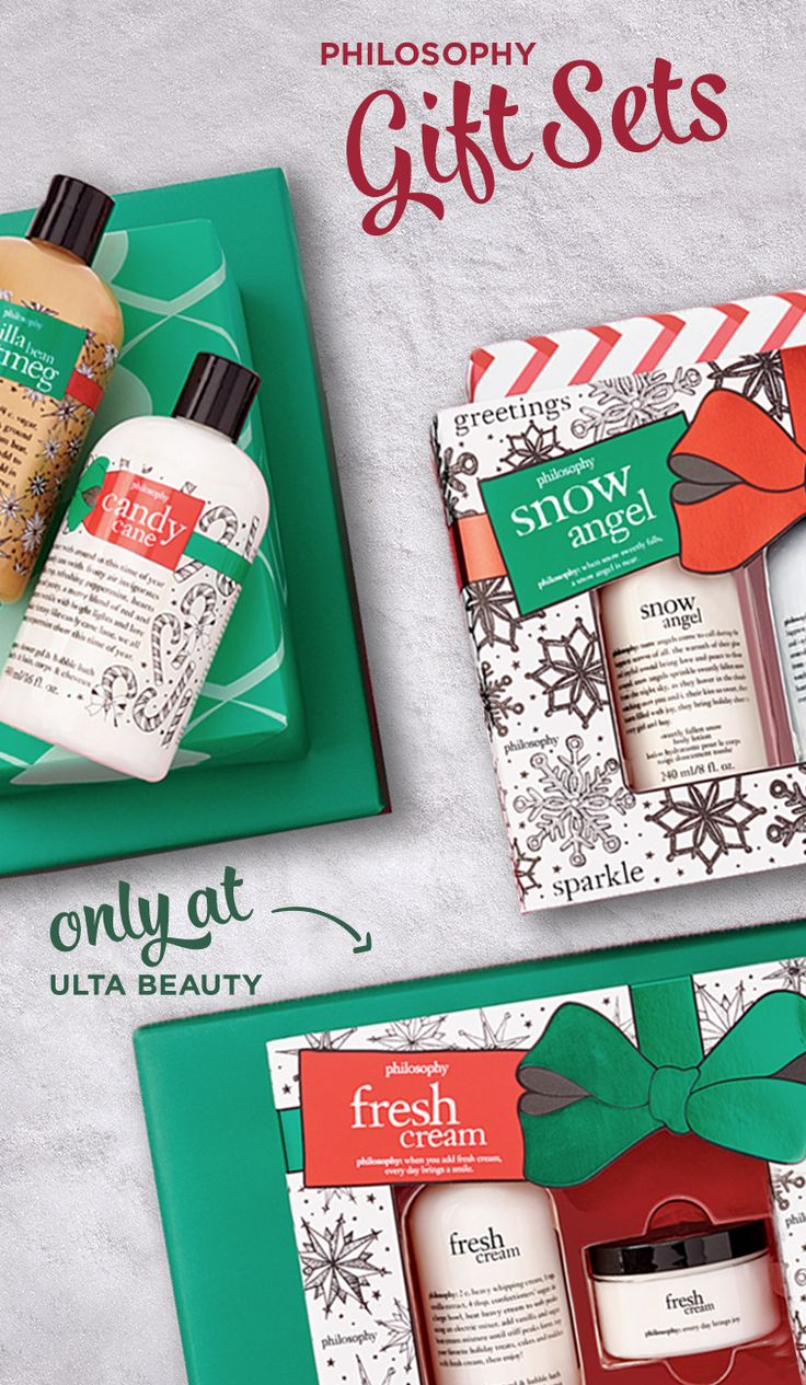 From morning to night, treat your skin with some TLC this winter season. Wake up feeling refreshed and ready to tackle the day with Philosophy's Cleaners and Body Creams. Look radiant no matter the time of day with Philosophy sold at Ulta Beauty today!