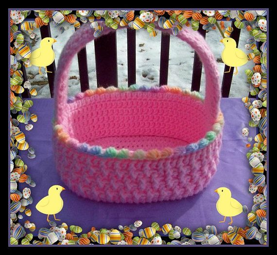 Beautiful Easter Basket For Boy Or Girl.Just by craftsforangels