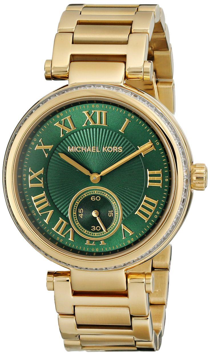 Reloj Michael Kors Skylar Mk6065 Mujer Verde: Amazon.es: Relojes