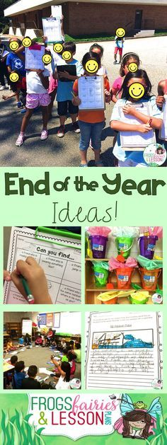 It is not too early to start planning for the end of the school year. This blog post is packet with suggestions for a smooth sailing last week!