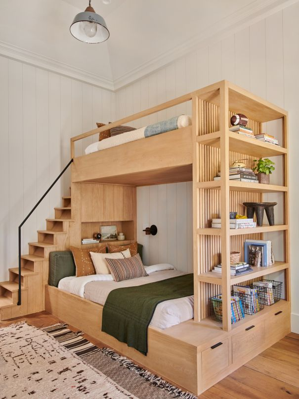 28 Bunk Beds You Ll Want For Yourself Bunk Beds With Drawers Modern Bunk Beds Bed For Girls Room