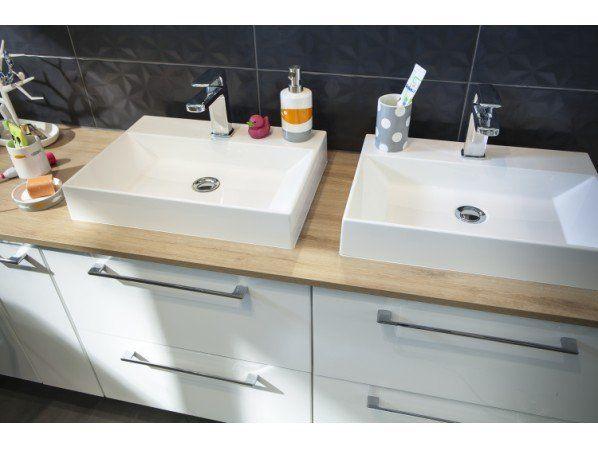 Une salle de bains qui réconcilie toute la famille dans 6m² | Leroy Merlin