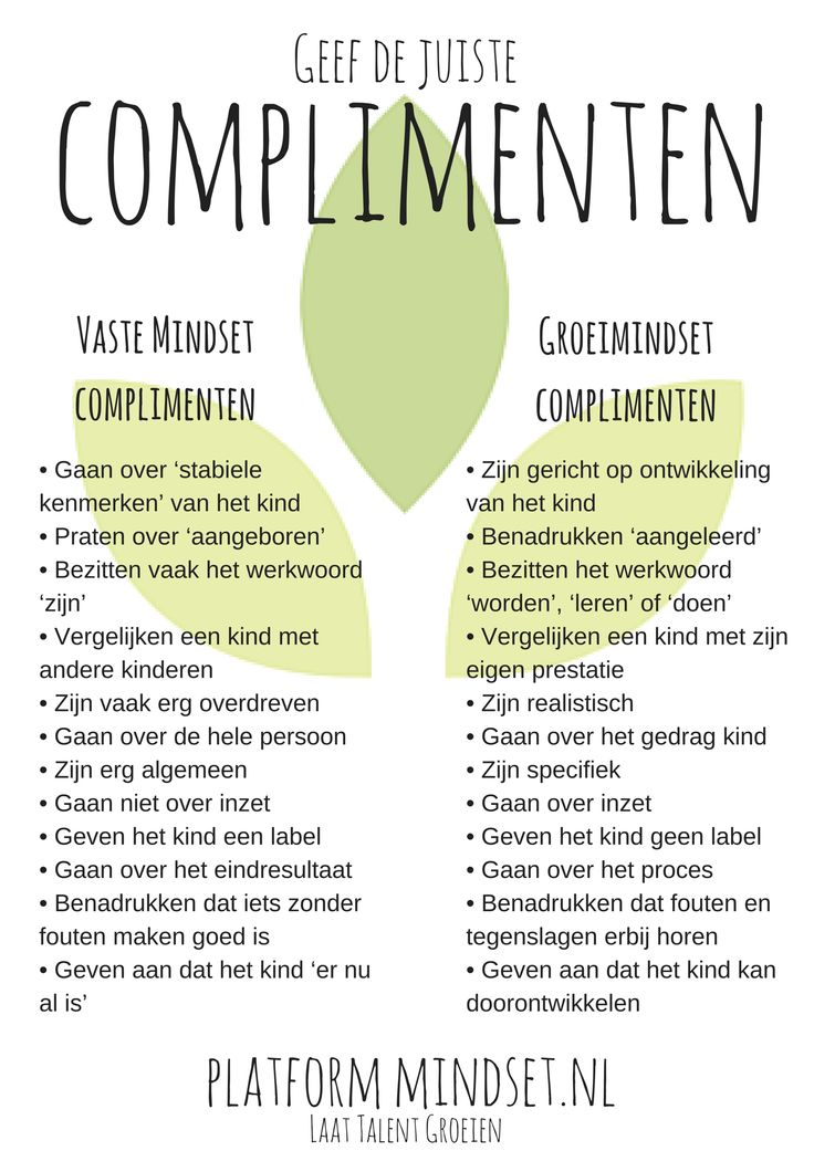 Complimentenoverzicht bij art over feedback