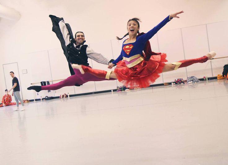 Kaori Nakamura and Jonathan Porretta of Pacific Northwest Ballet