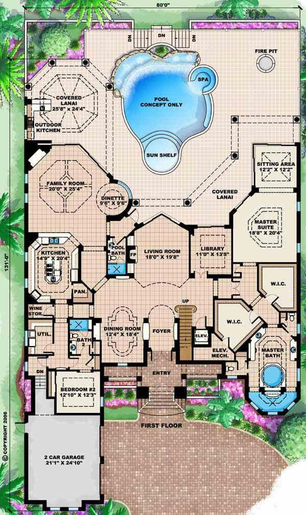 228 best Floor Plans images – Million Dollar House Floor Plans