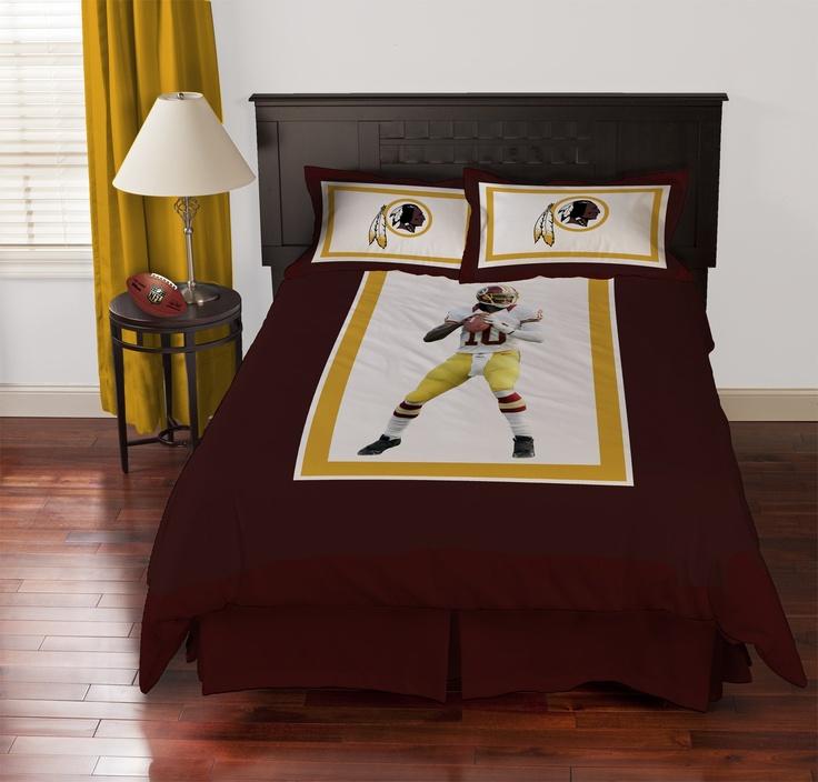 Biggshots Washington Redskins Robert Griffin III Comforter Set - Comforters - Products
