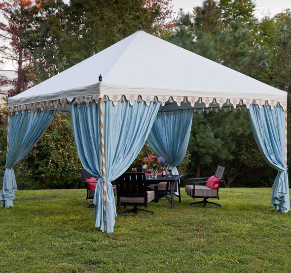 Do you think Marshall would kill me if THIS were the tent we put in our yard?
