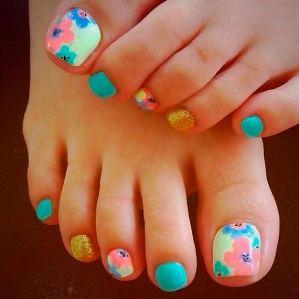 pedicure ideas for summer 2014