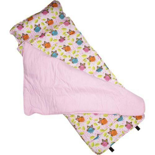 Nap mat with built in pillow. This would be great to take camping!!!