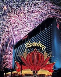 The Flamingo Casino is a lush 15-acre tropical paradise that's located right on the Las Vegas Strip. The Flamingo Casino, with its pink façade, is easy to spot.