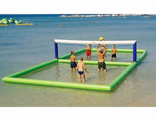 water volleyball - This would be awesome in any pool or pond