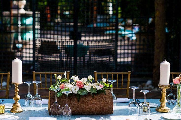 A Berta Bridal gown and the perfect Jimmy Choos | A glam chic wedding at Villa Padierna Palace Hotel, Marbella, Spain