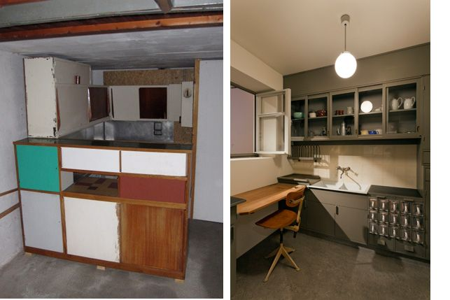 Images from left: Charlotte Perriand and Le Corbusier's ...