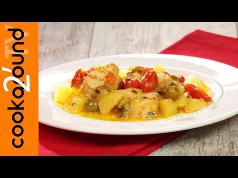 Baccalà in umido con patate / Ricetta - YouTube