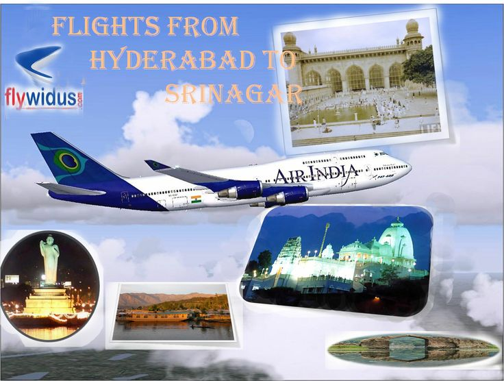 Airways are the most convenient way of travelling toady in travel and tourism industry. The public and private airline services perform brilliantly as compared to their roadways and railways counterpart. Flights from Hyderabad to Srinagar are a nice example of comfortable and affordable domestic flight service in India.