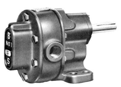 BSM Pump B-Series Pedestal Mount Gear Pumps