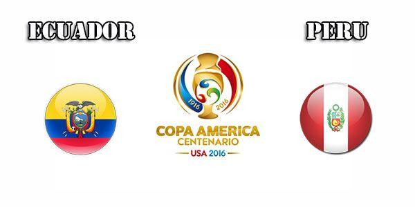 LIVE STREAMING: Ecuador vs Peru Copa America Centenario live football score