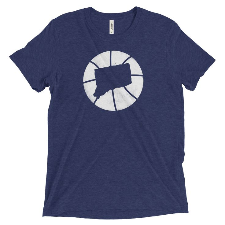 Connecticut Basketball State T-Shirt