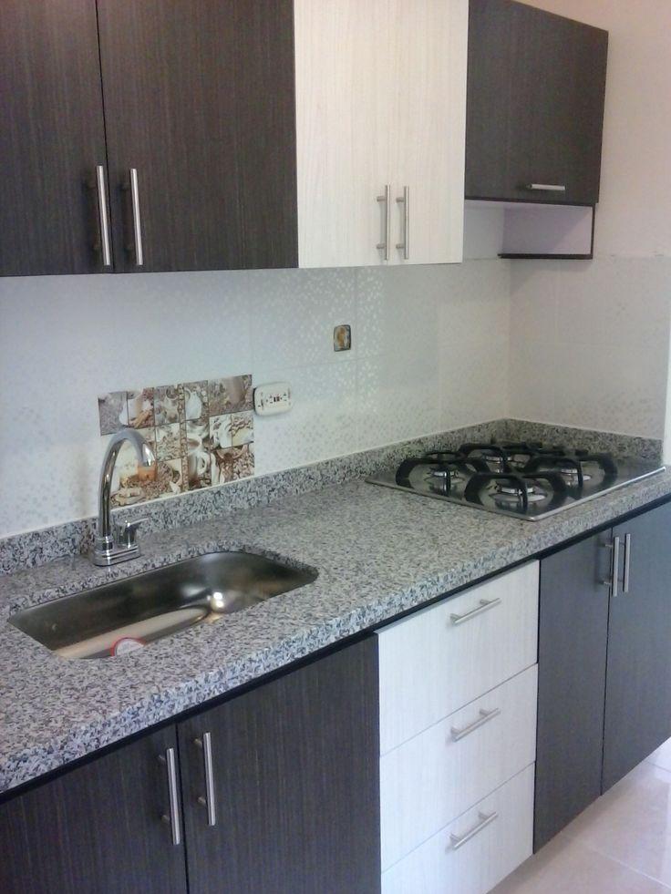 M s de 1000 ideas sobre cocina de granito en pinterest for Granito gris cristal