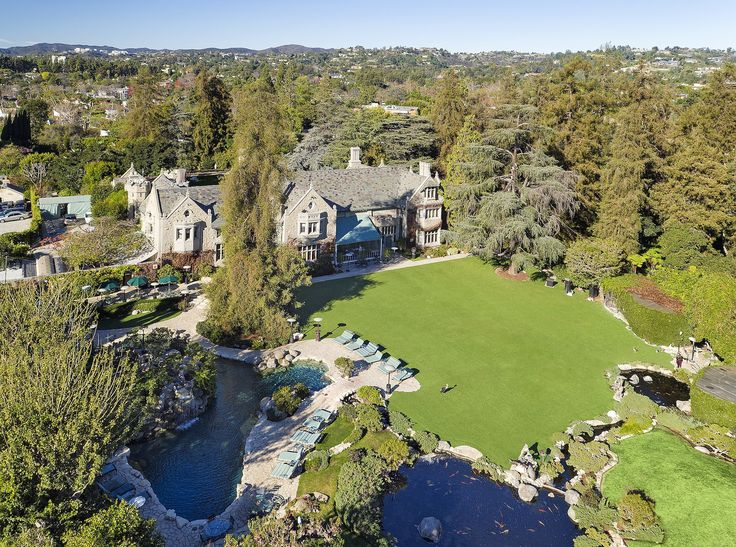 Playboy Mansion Sold, but Hugh Hefner Is Staying Photos | Architectural Digest