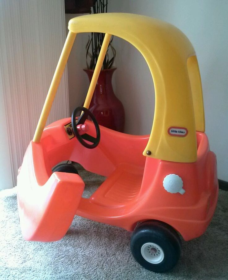 Original 1979 Crazy Coupe By Little Tykes Kid Size Rare