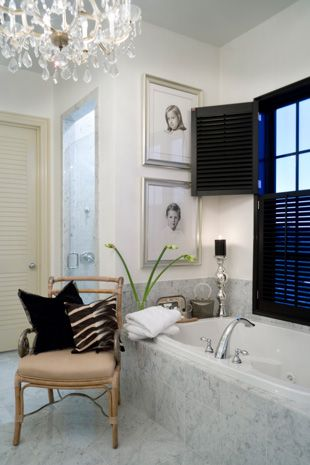 Gorgeous bathroom interior design ideas and decor by Joy Tribout Interior Design
