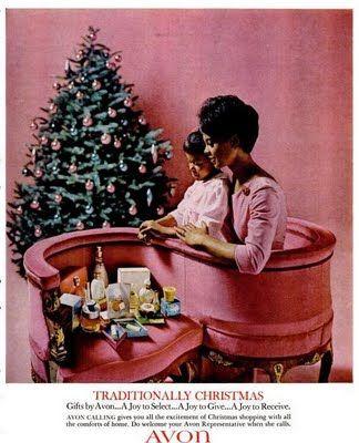 African American, vintage, pink, christmas