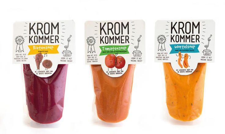 #Netherlands company #Kromkommer makes soup with imperfect veggies! #UglyFruitAndVeg #NoFoodWasted