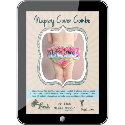 Nappy Cover Combo PDF Pattern
