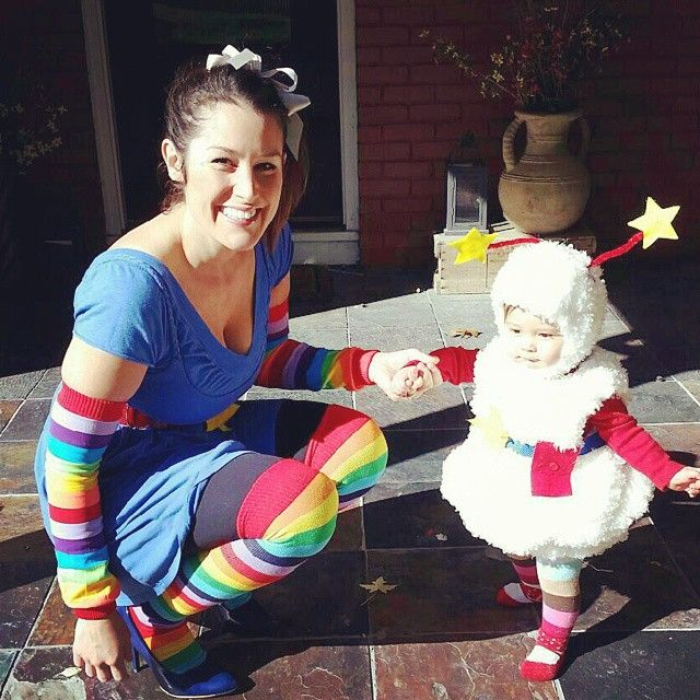 Happy Halloween! My mom is very talented. #likemotherlikedaughter #rainbowbrite #badbitchesonly  sc 1 st  Pinterest & 91 best 80s Party images on Pinterest | 80s party Birthdays and 80 s
