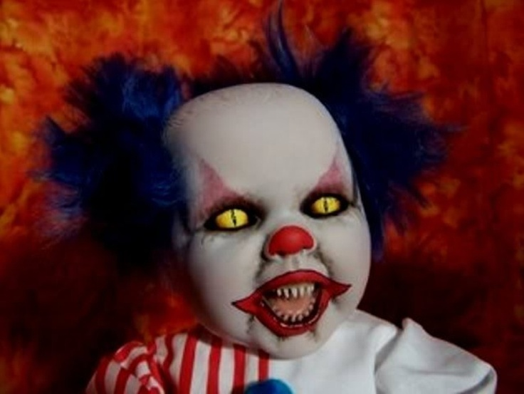 Baby scary | Scary Clowns | Pinterest