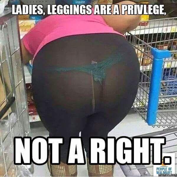Walmart shopper doing her thing...