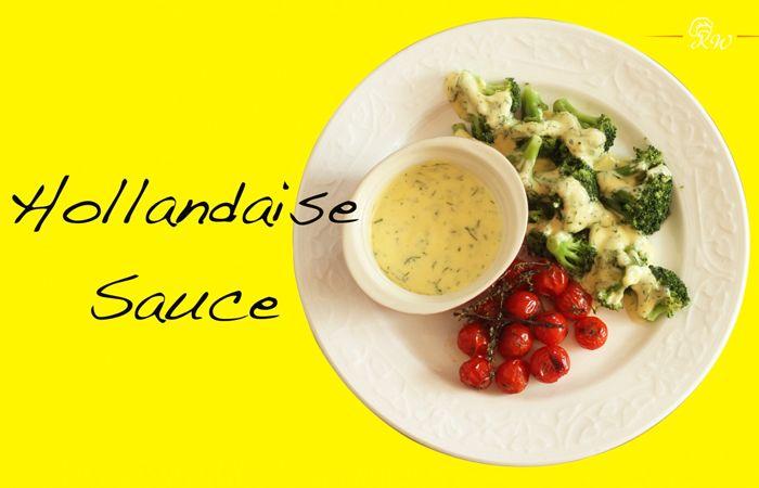 Hollandaise sauce in under 3 minutes!