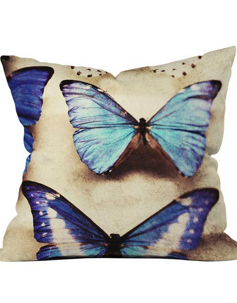 Morphos Throw Pillow