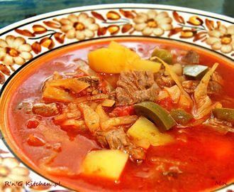 Zupa gulaszowa po kolożwarsku