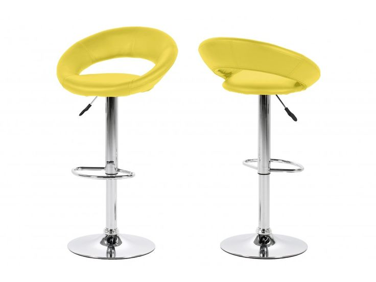 Hoker Plump żółty — Hokery Actona — sfmeble.pl  #yellow #design #chair