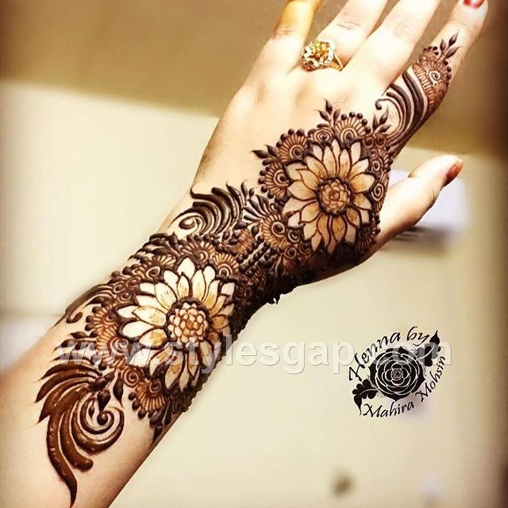 Latest Arabic Mehndi Designs Henna Trends 2017-2018 Collection (16)