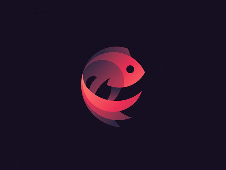 Siamese Fighting Fish logo by Tom Anders Watkins