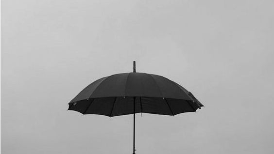 I always have an umbrella nowadays. You taught me that. That I should sheild myself for something so beautiful that it can destroy you.