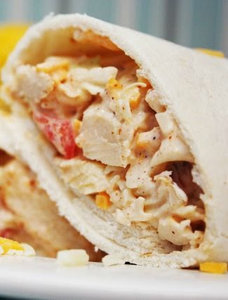 Southwest Chicken Wraps Recipe ~ couldn't be easier to put together and are absolutely delish!