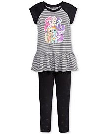 My Little Pony Little Girls' 2-Pc. Tunic and Leggings Set