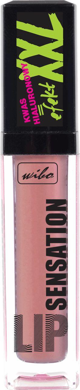 Lip gloss z kwasem hialuronowym, wypełnia usta, nadając im mega objętość. WIBO Sp. z o.o. Sp. k, ul. Kościerska 11, 83-300 Kartuzy.